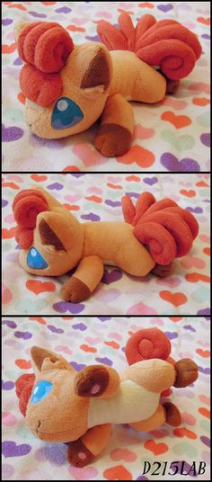 Vulpix Plush by d215lab.deviantart.com on @deviantART Waaaaaaaaaant!