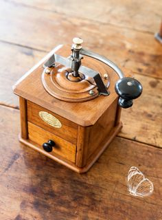 1920s Peugeot Frère French Coffee Grinder / by ScrumptiousVenus