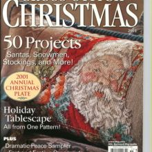 Very good condition--no marks or tears and all pages intact. Xmas Cross Stitch, Cross Stitch Christmas Ornaments, Cross Stitch Books, Just Cross Stitch, Christmas Cross, Counted Cross Stitch Patterns, Christmas Patterns, Cross Stitch Magazines, Vintage Cross Stitches