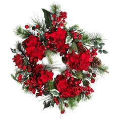 22 Holiday Hydrangea Wreath ** This is an Amazon Affiliate link. Details can be found by clicking on the image.