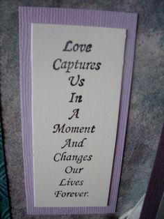 Door County Rubber Stamps - Wedding Saying
