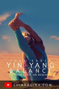 Downbeat Yin Yoga Sadhana with Yang elements to reconnect you deeply and purposefully to your body and soul. Take your time, sense your body, find your breath in this slow paced 30 minutes yoga class. #beachyoga #chiaradina #yogavideo #sadhana