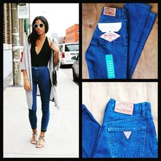 #FRESH & #TRENDY #LOOKS by Trea$ure with our #HIGHWAIST #DENIM #GUESS #VINTAGE #LOSTSTOCK #COLLECTION! Go shop!  Www.facebook.com/treasurerrr  #fashion #style #street #urban #girls #mexico #onlineshopping