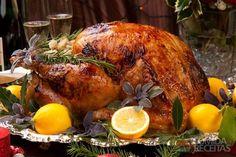 Receita de Peru assado especial em receitas de aves, veja essa e outras receitas aqui!