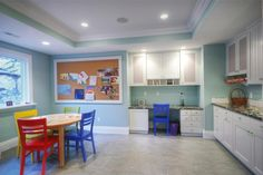 Large and functional arts and crafts room.   From 1 of 38 projects by Renovation Design Group.