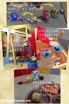 Objective led planning - incorporating explorations of weight and measurement into child-initiated activities on Rockmyclassroom.com