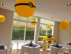 Despicable Me Minion Party Planning Ideas Supplies Idea Cake Decor Minion Theme, Minion Birthday, Boy Birthday Parties, Birthday Ideas, 2nd Birthday, Despicable Me Party, Minion Party, Minion Baby Shower, Fiesta Party
