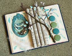 Altered book from Flickr