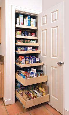 Kitchen , Kitchen Pantry Ideas for Elegant Cooking Space Storage : Unique Diy…