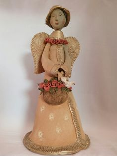 Pottery Angel by Probst Pottery