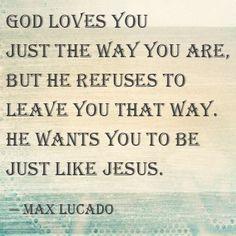 max lucado inspirational quotes | Max Lucado