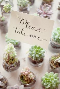 Cute DIY wedding favour ideas