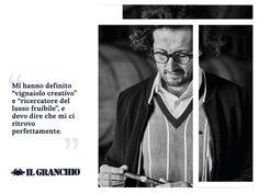 """La terza parte della storia che ha come protagonista Federico Minghi, """"Il Vignaiolo Creativo"""". #IlGranchio #Freewear #Story  Nella foto : Giaccone 16600 - Maglia 16625"""