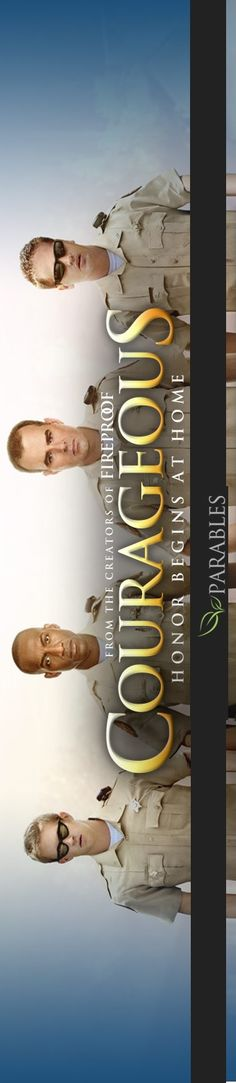 Last film, which is set to be released at the end of September is Courageous, the latest film from Sherword Pictures, the Baptist filmmaking ministry in southern Georgia that was responsible for Fireproof and Facing the Giants.  Based off of  their past films, there are some very good