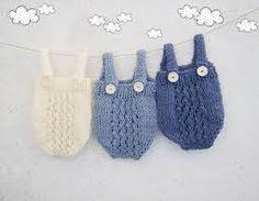 Image result for newborn boy romper crochet free pattern