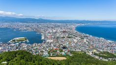 View from Mt Hakodate daytime.