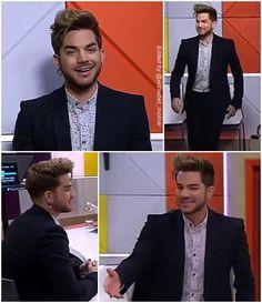 2015-08-06 Adam Lambert on The Paul Henry Show [New Zealand] pic.twitter.com/Ht7VgKDjb8