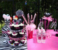 Mis niñas Minnie Mouse ideas fiesta de cumpleaños