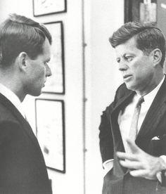Robert F. Kennedy and John F. Kennedy