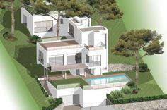 Modern minimalist stylish three bedroom villa - CAP D'ANTIBES