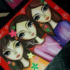 Romi Lerda Art (@romi_lerda_art) | Instagram photos and videos Worli Painting, Painting Of Girl, Painting For Kids, Acrylic Painting Canvas, Fabric Painting, Art For Kids, Indian Women Painting, Abstract Face Art, Character Design Girl