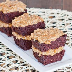 German Chocolate Cake - moist and delicious, one of the best cakes ever.