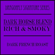 Merlin's Dark Horse combines an earthy, malty, peppery flavor with a black currant-sweet and roasty character. All from the rainforest canopies of Indonesian Archipelago! Fair Trade Coffee, Black Currants, Dark Roast, Earth Tones, Merlin, Earthy, Brewing, Horse, Canopies