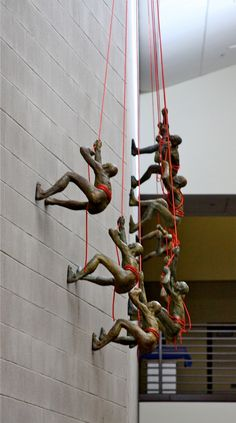 The Incredible Making of Climbing Sculptures