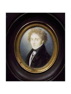 Giclee Print: Portrait of Vincenzo Bellini : 24x18in
