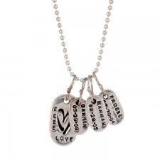 Mommy Tags Necklace