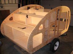 Handcrafted Teardrop Trailer Build - Imgur