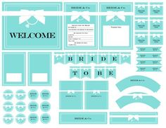 16 Ideas For Bridal Party Blue Tiffany Theme Bridal Shower Tea, Bridal Shower Rustic, Bridal Shower Favors, Bridal Shower Decorations, Party Favours, Bridal Showers, Tiffany Birthday Party, Tiffany Party, Tiffany Wedding