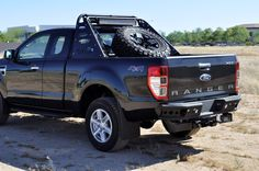 ford ranger t6 rear bumpers