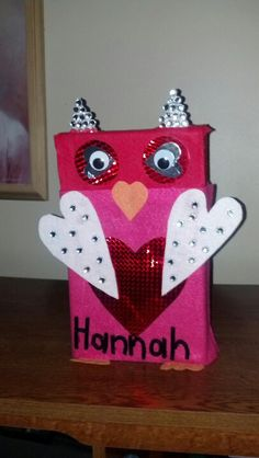Owl Valentine Box 2013:)