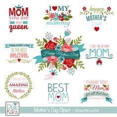 Mothers Day Clip Art - Mygrafico.com