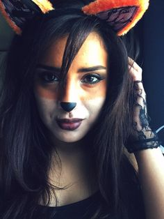Halloween makeup: Halloween makeup: FOX by CCordova. Tag your pics with #Halloween and #SephoraSelfie on Sephora's Beauty Board for a chance to be featured!