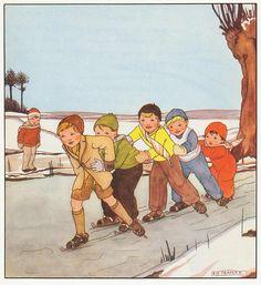Rie Cramer Het jaar rond editie 1978, ill ijs | Flickr - Photo Sharing!