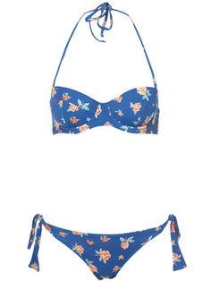 Blue Rose Underwire Bikini from Topshop