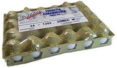 Laitilan Kanatarhan vapaat kananmunat löytyvät myös suuremmista perhepakkauksista. Pakkauksessa on 24 munaa.