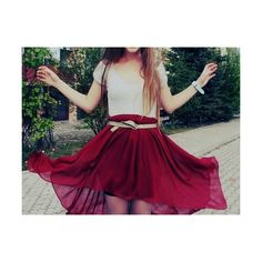 girly clothes | Tumblr ❤ liked on Polyvore featuring pictures, photos, outfits, red and backgrounds