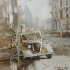 Денис Октябрь  2017/Из серии: Старый город-75х75.2017. .jpg