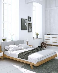 100+ Best Scandinavian Bedroom Decor Ideas https://carrebianhome.com/100-best-scandinavian-bedroom-decor-ideas/ #bedroomdesign