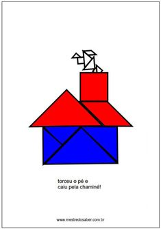 História com tangram Anna, Geometry Activities, Lesson Planning, Math Notebooks, Learning, Reading