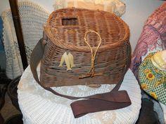 Fisherman Basket  Decorative by Daysgonebytreasures on Etsy, $16.00