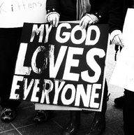 yes he does.  Stop racism, sexism, homophobia, political mudslinging, hatred for different misunderstood religions...heck hatred for any we misunderstand. God loves...we should too. Remember, love has nothing to do with how we feel, its what we do. You dont have to be like others or completely understand to make acts of love your priority.