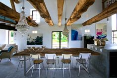 Charming barn house infused with style in Burgundy