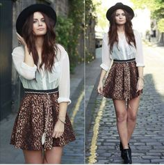 spring skirt 14 Spring is in the air: Short flowy skirts (26 photos)