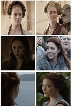 """Sansa has always been something of a chameleon – her hairstyles changing as regularly as her alliances. 