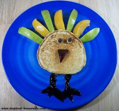 Inspired-Housewife: Thanksgiving Kids Breakfast and Lunch Ideas Tutorial, treats, holiday, special treat, fun food ideas