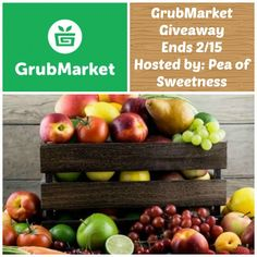 Enter to Win A Regular Box from Grubmarket Giveaway Ends 2/15